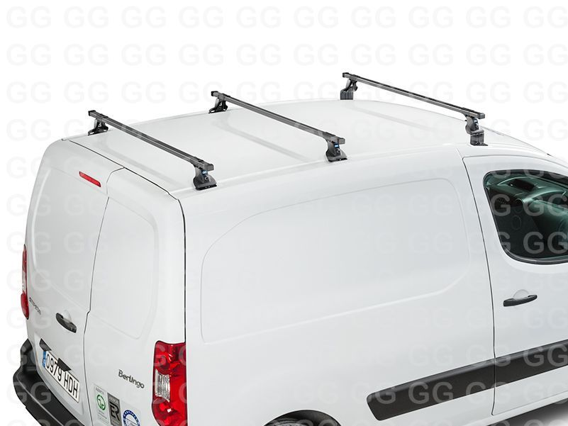 8668a74c51b93d Heavy Duty Ladder Roof Rack Bars Citroen Berlingo Van 2008 ...