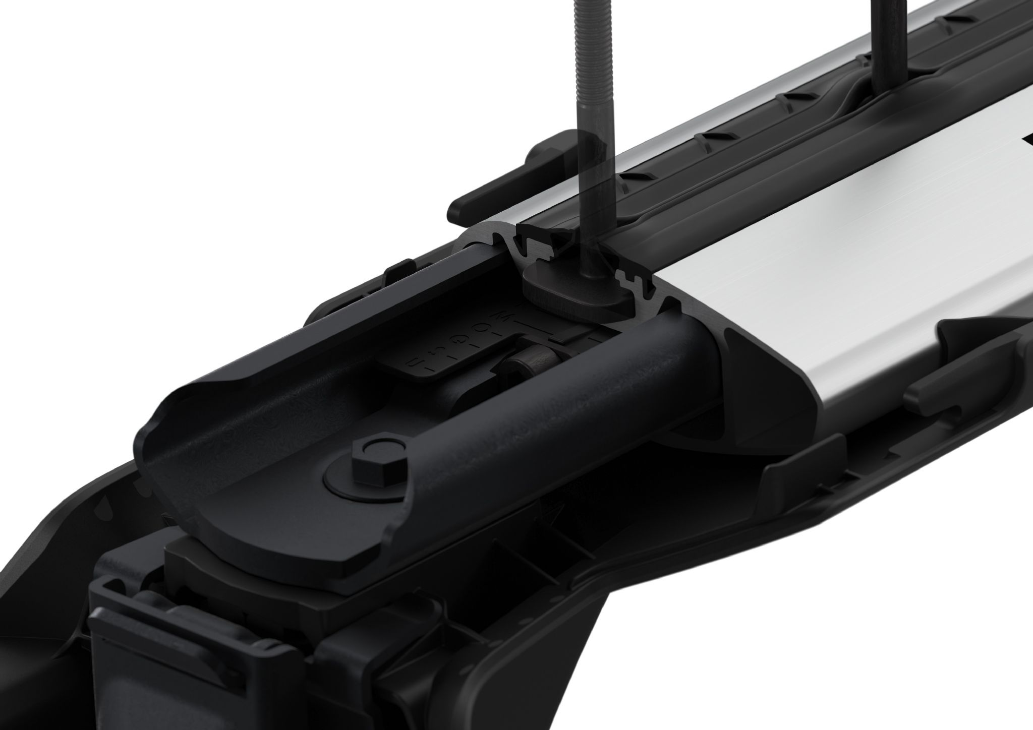 Thule Aero WingBars Roof Rack BarsFord Galaxy 2010-2015 Flush Rails